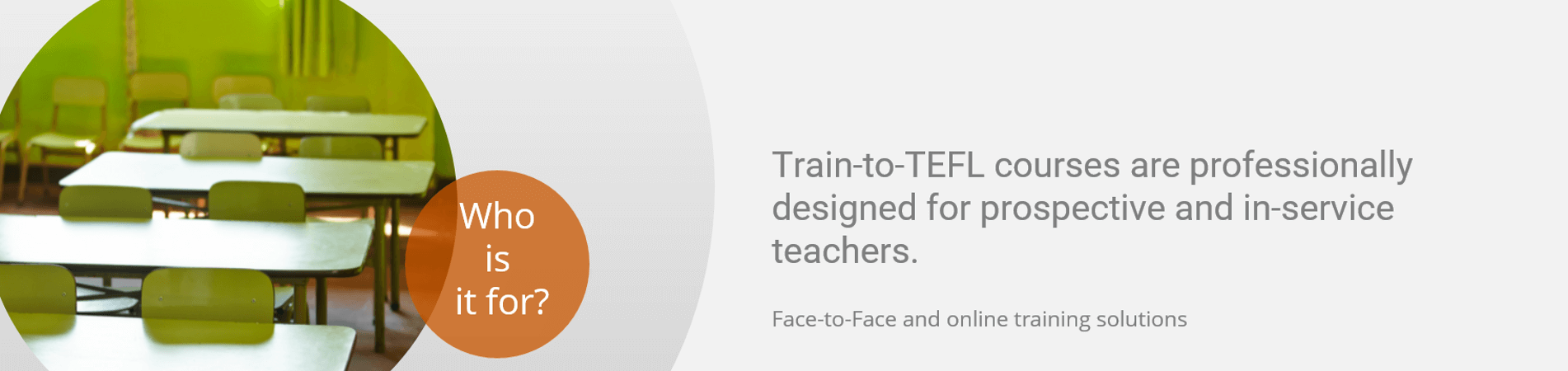 who is train to tefl for banner